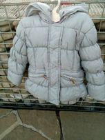 Курточка на холодную осень на девочку 1.5- 2 года