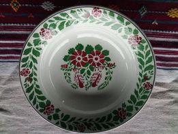 старинная настенная тарелка с клеймом подарочная