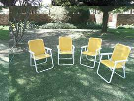 CAMPING CHAIRS (4)