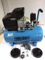 Компрессор компресор 50 л Euro Craft 2.8 кВт Польша! Гарантия!