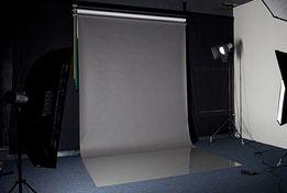 АКЦИЯ! Серый Фон для Фото 2на4 метра, Виниловый фотофон для фотостудии