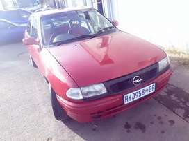 Opel Astra 98 .Good condition. Start and go. Fuel saver.