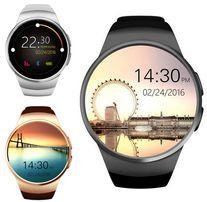 Новые, умные Cмарт часы телефон Smart Watch KW18 + подарок