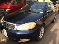 Toyota Corolla blue 03 buy and use 0