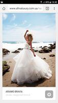 Пышное Свадебное платье с камнями сваровски