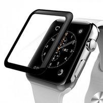 Защитное стекло 3D для Apple Watch 38/42 mm (края закругленные)