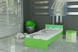 Łóżko dla dzieci z oświeteniem LED,raty, 3 wymiary