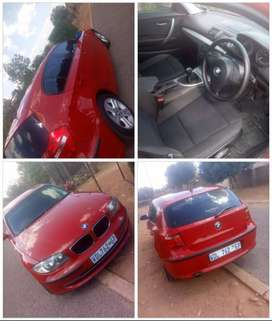 Its 2009 model bmw 118i red in colour n good conditions