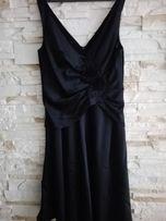 Imprezowa czarna sukienka rozm. 42