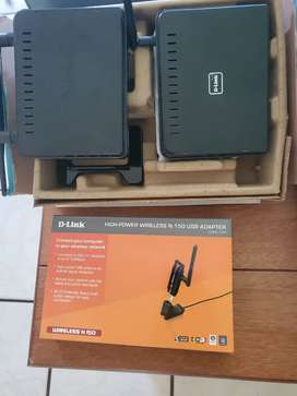 WiFi Range Extender, Access Point & USB For Sale