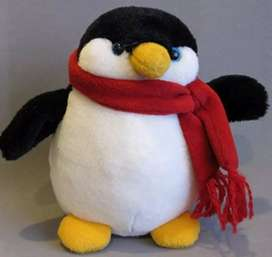 Imported Handmade Gund Braun Thermo Scan Promo Plush Penguin