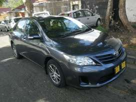 2010 TOYOTA COROLLA PROFESSIONAL 1.6 MANUAL