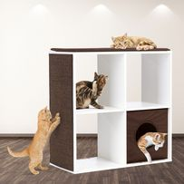 Дом кошкин оазис в белом KletterLetter
