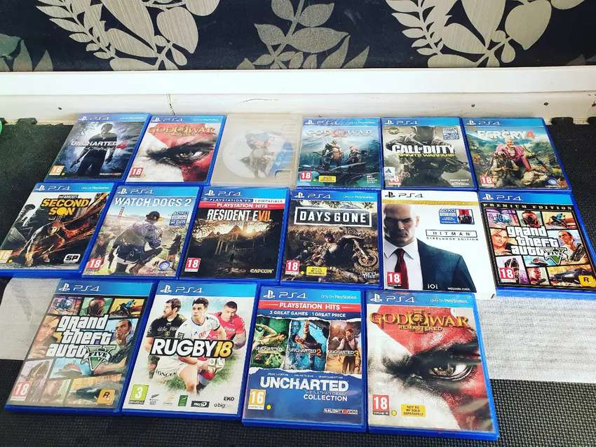 Playstation  4 games for sale 0