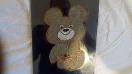 Олимпийский мишка картина панно на стену