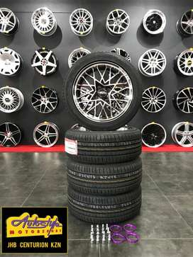 """mag & tyre combo deal 15"""" suitable vw golf, gti, opel, toyota"""