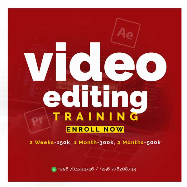 Learn Video Editing and become your own boss 0