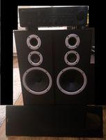 Amlituner Yamaha kolumny Jamo głośniki wzmacniacz zestaw kino domowe