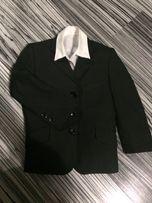 4-6 лет комплект школьный пиджак рубашка