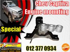 Chev new and used spares\parts-Captiva engine mounting
