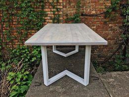 Стол кухонный. Стол обеденный. Мебель Лофт/Loft. Деревянный стол. Стiл