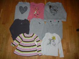 Bluzeczki dla dziewczynki roz. 128 cm
