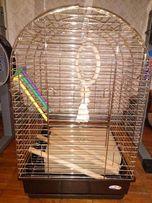 большая итальянская клетка для попугая Marchioro жако, какаду, амазон