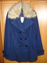 Продам новое женское пальто Tally Weijl синее весна-осень размер 48 (X