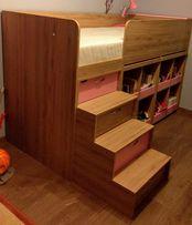 Łóżko dziecięce 225x94 cm (materac 200x90)