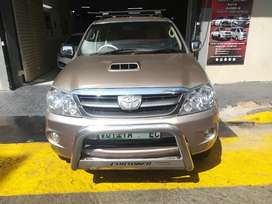 Toyota fortuner for a good price and a good condition