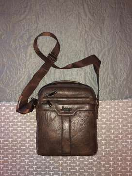 Jeep leather bag