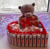 Подарок с любовью (букеты из конфет, сладкий подарок, подарок мужчине)