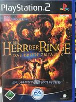 PS2 gra Lord of rings
