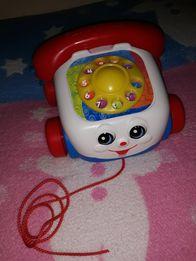 Telefonik dla gadułki Fisher Price, telefon dla dziecka, do zabawy