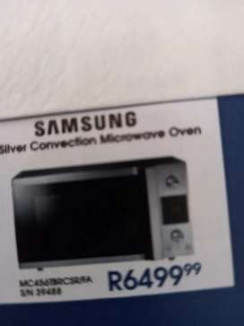 Samsung Convection Microwave