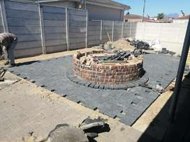 Paving & fire pits installations