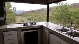 A very spacious one bedroom house available in Hartbeespoort with a Sc