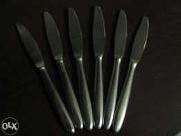 Komplet 6 noży z lat 60-ych ub. wieku - kolekcjonerowi