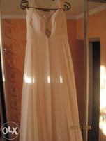 Свадебное платье в греческом стиле + болеро