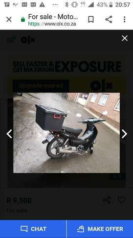 Hi guys  looking for motorbike or scooter the engine capacity must 125