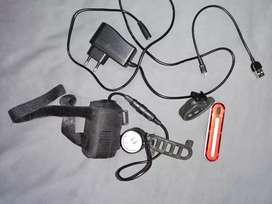 Mtb light setup rechargeable