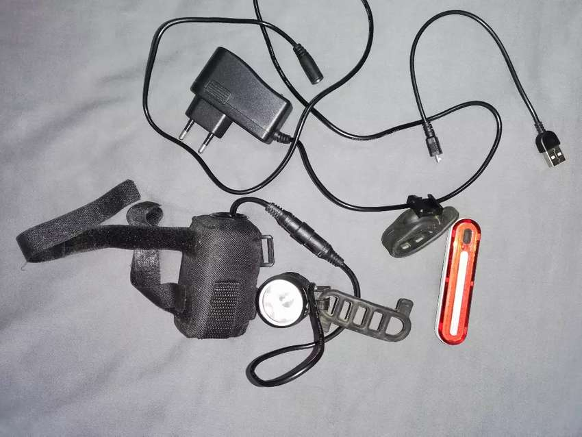 Mtb light setup rechargeable 0