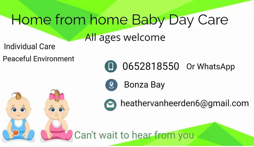 Baby Day Care available 0