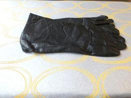 Перчатки женские 8 р натуральная кожа Румыния на шерстяной подкладке