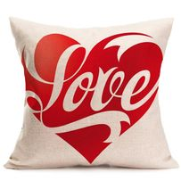 "Наволочка на подушку ""LOVE""-140 грн"