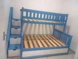 Tribunk beds with Staircase for sale