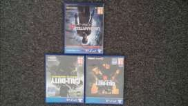 PS4 Games (Black Ops 4, Black Ops 3 & Uncharted 4)