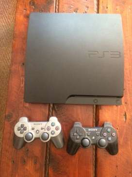 Ps3 2x remotes 1x charging cord 42 games