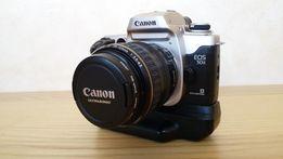 Фотоаппарат плёночный Canon EOS 50Е + 2 объектива