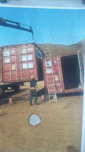 Converted container 12m*2 @ R110000